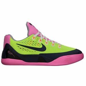 Nike Kobe 9 EM GS- Volt Midnight Navy Sneakers